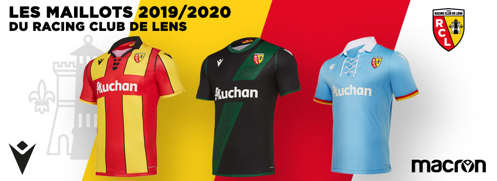 MAILLOTS 2019-2020 RC LENS