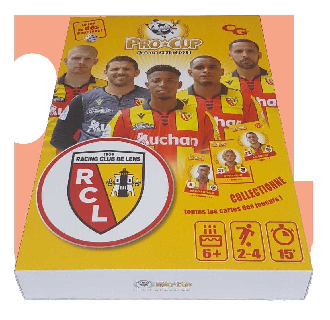 JEU PROCUP RC LENS 2019-2020