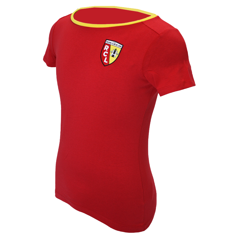 T-SHIRT LADIES ROUGE JUNIOR