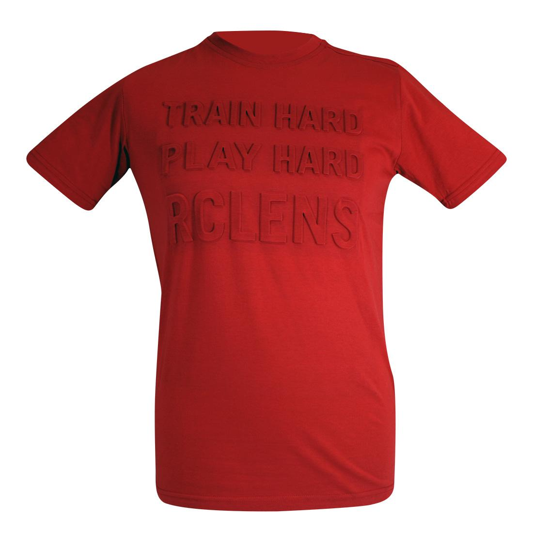 TEE SHIRT TRAIN HARD/PLAY HARD