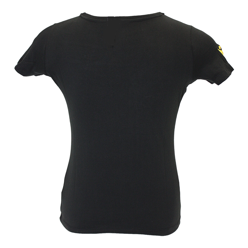 T-SHIRT LADIES NOIR JUNIOR